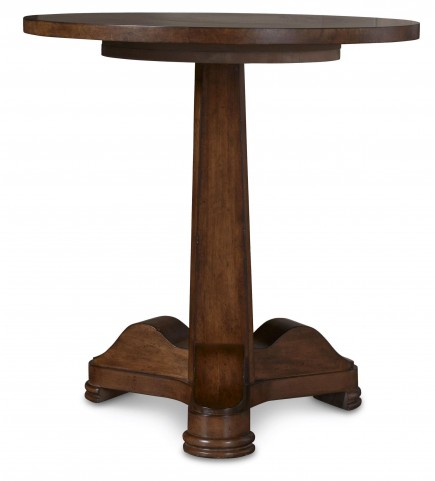 The Foundry Rustic Walnut Brookstone Spot Table
