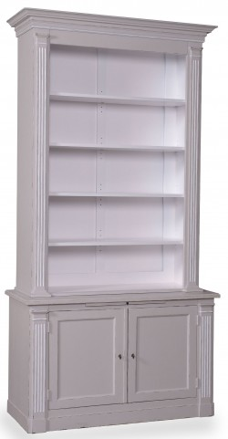 The Foundry Weathered Grey Jolie Bookcase