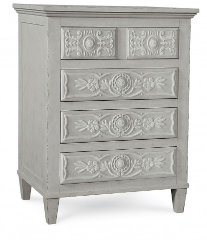 The Foundry Vintage Blue Grist Accent Chest