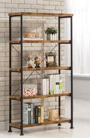 Barritt Antique Nutmeg Bookcase