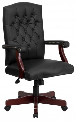 1000144 Martha Washington Bonded Leather Executive Swivel Chair