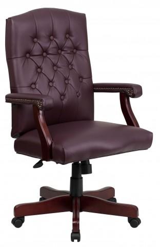 1000145 Martha Washington Bonded Leather Executive Swivel Chair