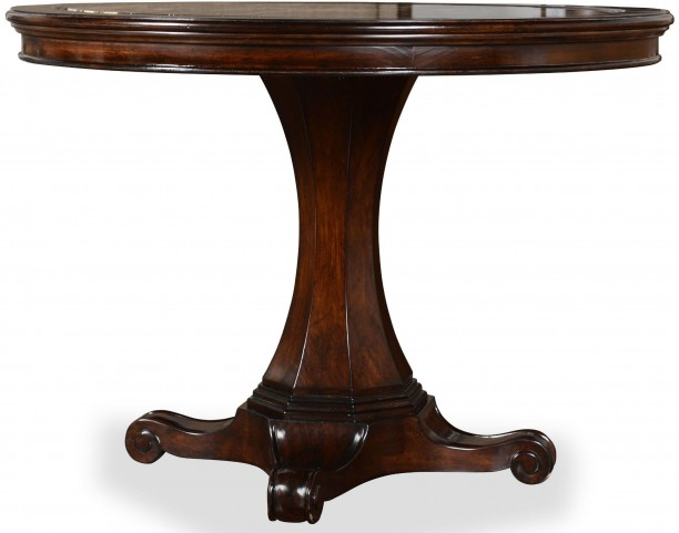 The Foundry Cafe Norton Cherry Round Dining Table