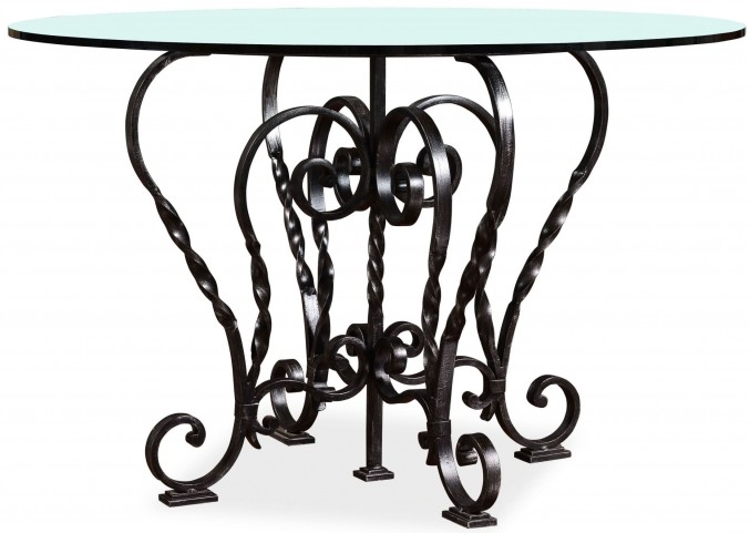 The Foundry Cafe Freese Metal Round Dining Table