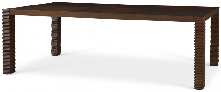 Well Mannered Urbane Brown Large Dining Table