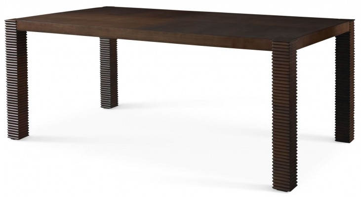 Well Mannered Urbane Brown Small Leg Dining Table