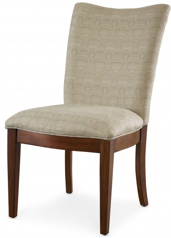 Open Seating Adriana Cream Patterned Side Chair