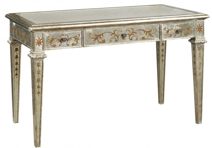 Dream Tapered Legs Mirror Table Desk