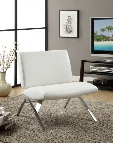8118 Beige Linen Fabric / Cappuccino Accent Chair