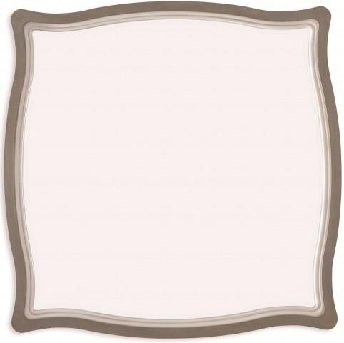 White Peony Mist Grey Gardenia Mirror