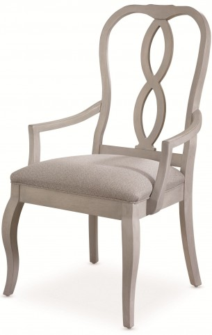 White Peony Blanc White Fern Arm Chair