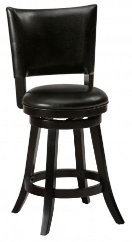 Aaron Upholstered Pub Swivel Stool Set of 2