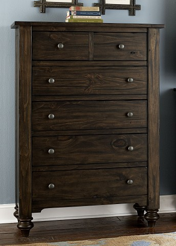 Southern Pines 5 Drawer Chest