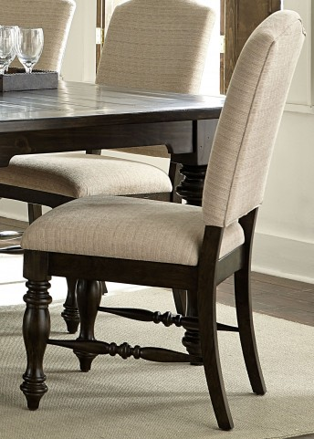 Southern Pines Bark Upholstered Side Chair Set of 2