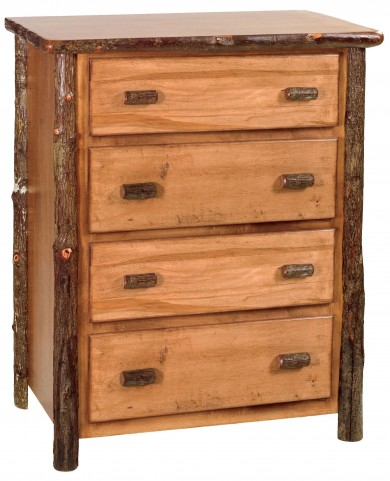 Hickory Premium Four Drawer Chest