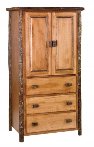 Hickory Traditional Value 3 Drawer Armoire