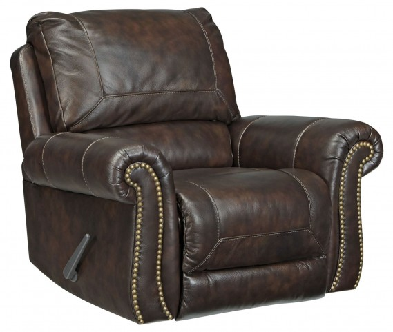 Bristan Walnut Rocker Recliner
