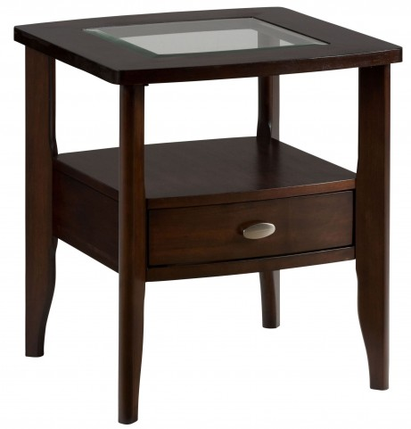 Montego Merlot End Table