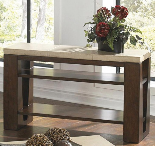 Cement Top Sofa Table