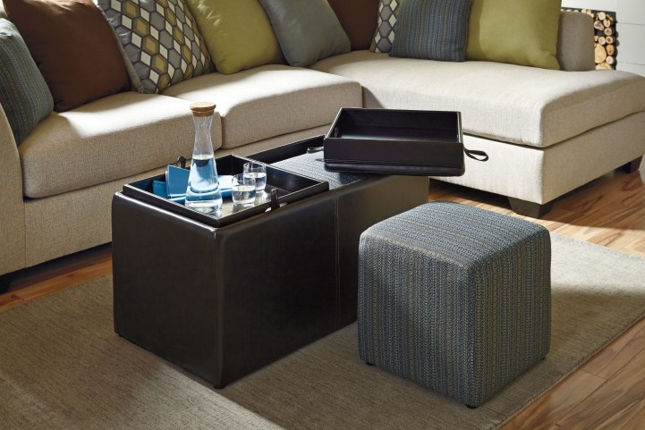 Casheral Ottoman With Storage