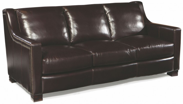 Carrington Madrid Espresso Leather Sofa