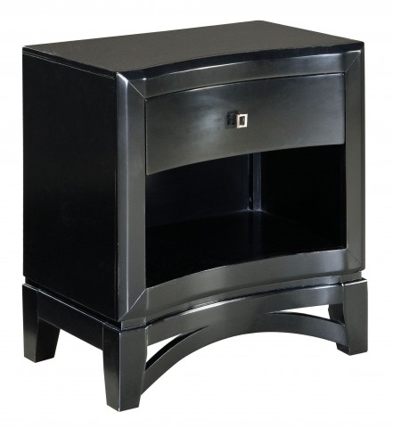 Memphis Black Nightstand