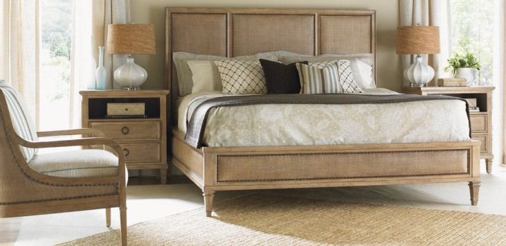 Monterey Sands Pacific Grove Platform Bedroom Set