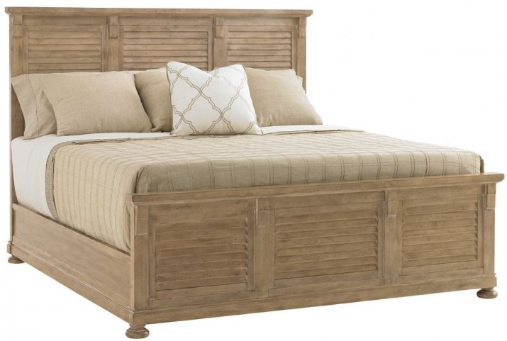 Monterey Sands Cypress Point King Panel Bed