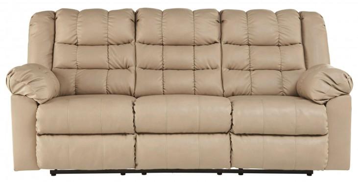 Brolayne DuraBlend Beige Reclining Sofa