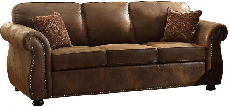 Corvallis Brown Sofa