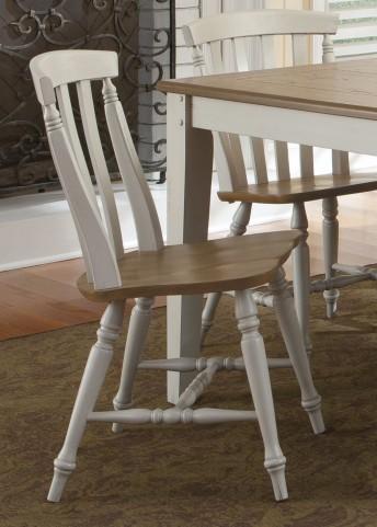 Al Fresco III Slat Back Side Chair Set of 2