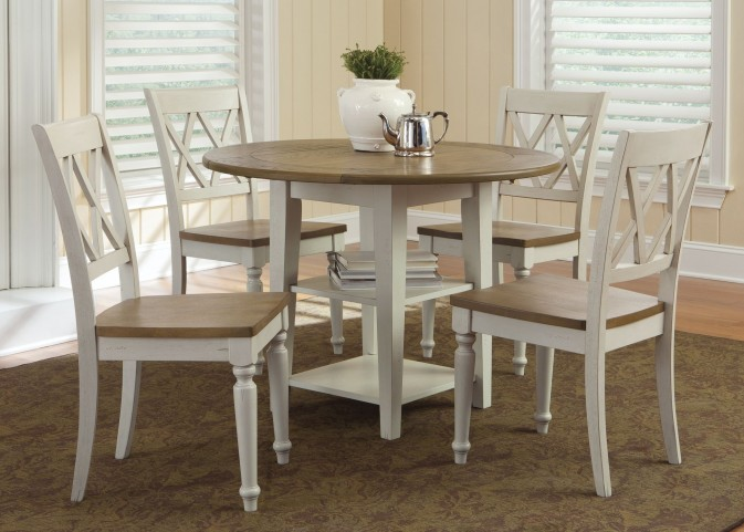 Al Fresco III Drop Leaf Extendable Dining Room Set