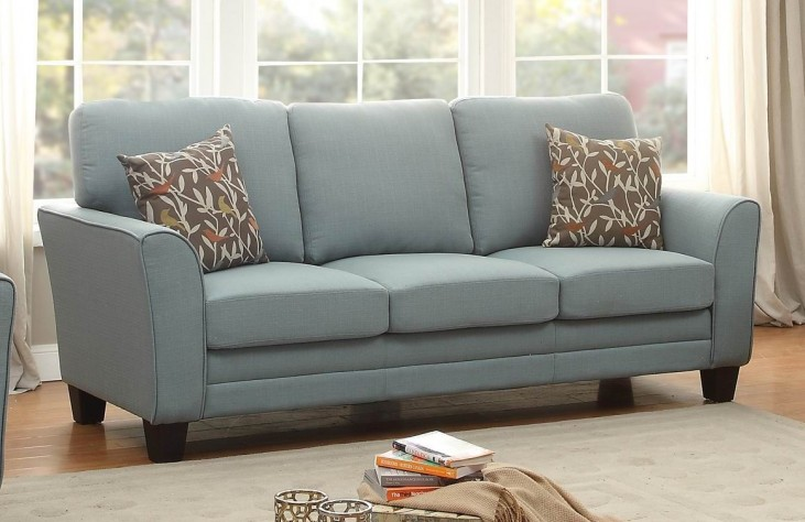 Adair Teal Sofa