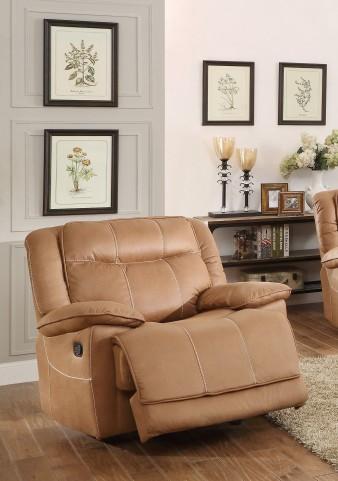 Wasola Brown Glider Reclining Chair