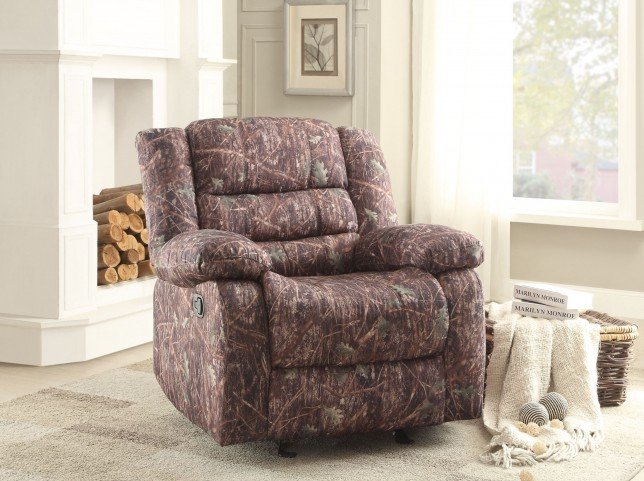 Berger Camouflage Glider Reclining Chair