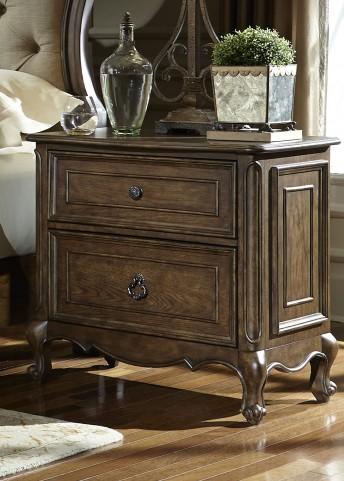 Lorraine Antique Oak 2 Drawer Nightstand