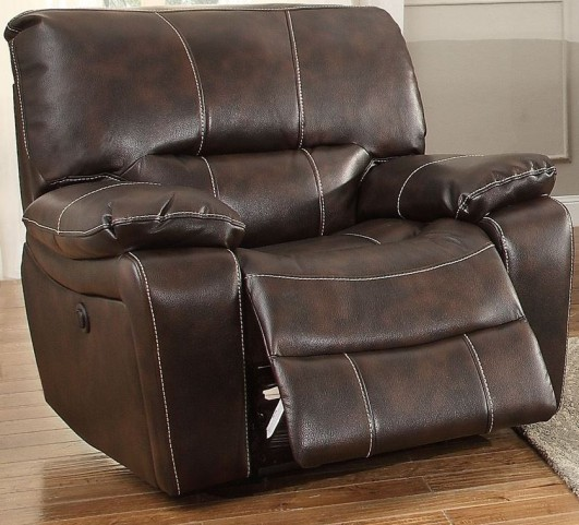 Timkin Dark Brown Power Reclining Chair