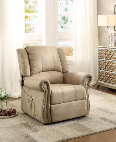 Iola Taupe Power Lift Chair