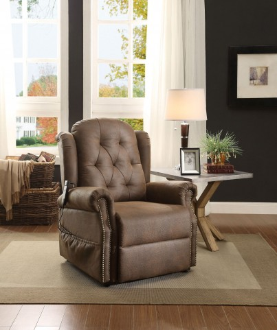 Roeland Dark Brown Power Lift Chair