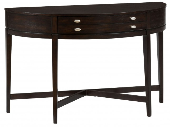 Kent County Miniatures Demilune Sofa Table