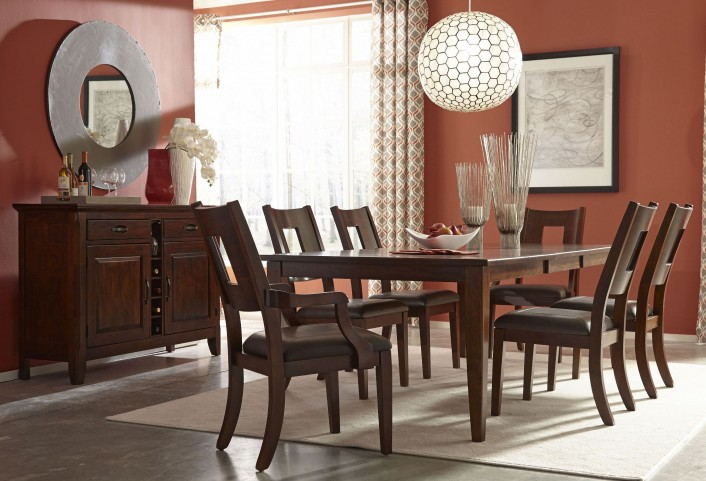 Carturra Rich Chocolate Dining Room Set