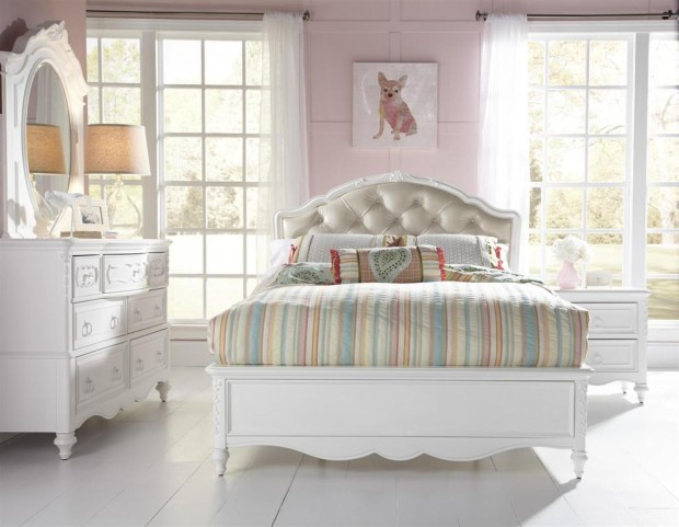 SweetHeart Youth Upholstered Bedroom Set