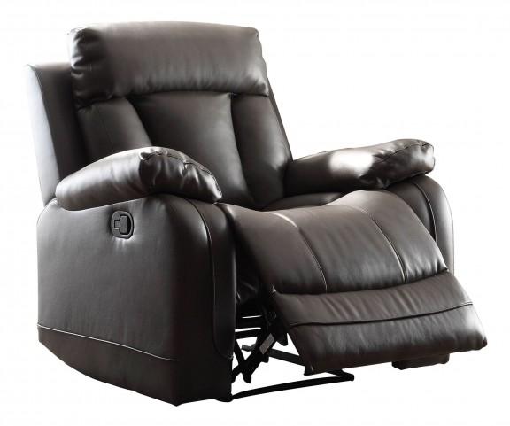 Ackerman Black Reclining Chair