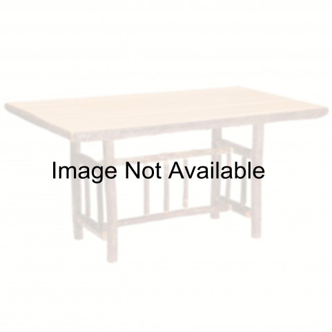 "Hickory Round 72"" Counter Height Rustic Maple Standard Dining Table"