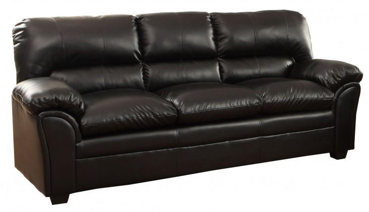 Talon Black Sofa