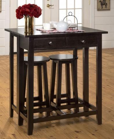 Roasted Java Breakfast Extendable Dining Room Set