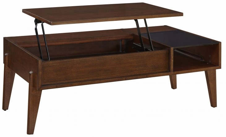 Travis Rectangular Lift Top Coffee Table