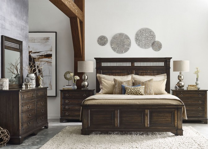 Wildfire Ember Panel Bedroom Set