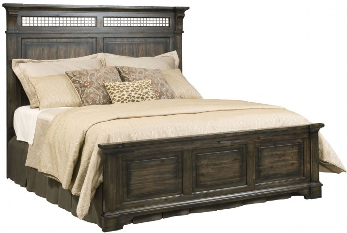 Wildfire Ember Cal. King Panel Bed