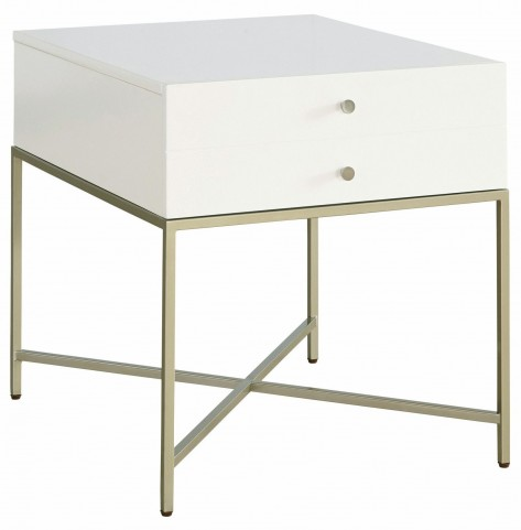 Hemming Drawer End Table